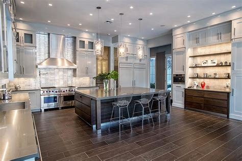 Stainless Steel Kitchens And Bars by 37 Gorgeous Kitchen Islands With Breakfast Bars Pictures
