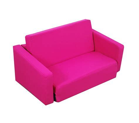 pink sleeper sofa dreamfurniture juvenile poly cotton sofa sleeper