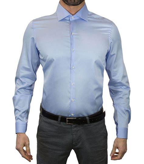 bright color shirts shirt firenze satin light blue