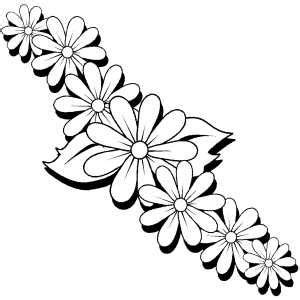 coloring pages of small flowers 25 unique flower coloring pages ideas on