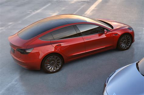 Tesla Model S Build Your Own Tesla Model 3 Configurator Lets You See Car In Different