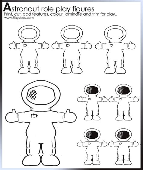 astronaut template astronaut templates crafts