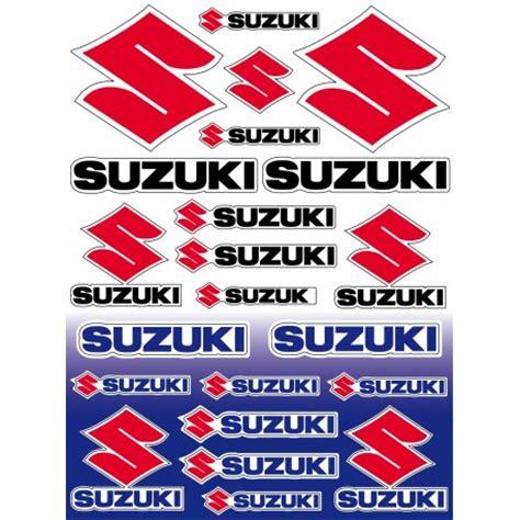 Suzuki Stickers by 22 Stickers Autocollants Moto Suzuki Sticker Suzuki