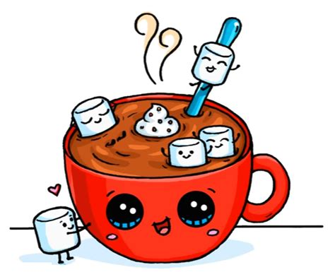 imagenes de yogurt kawaii hot chocolate art drawings pinterest dibujos kawaii