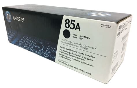Toner Hp 85a hp ce285a 85a black toner cartridge