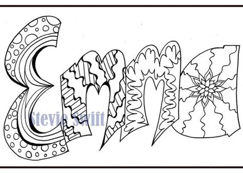 coloring pages of the name emma coloring pages of the name emma murderthestout
