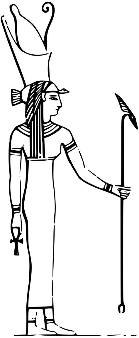 isis egyptian goddess clip art isis clip art 18
