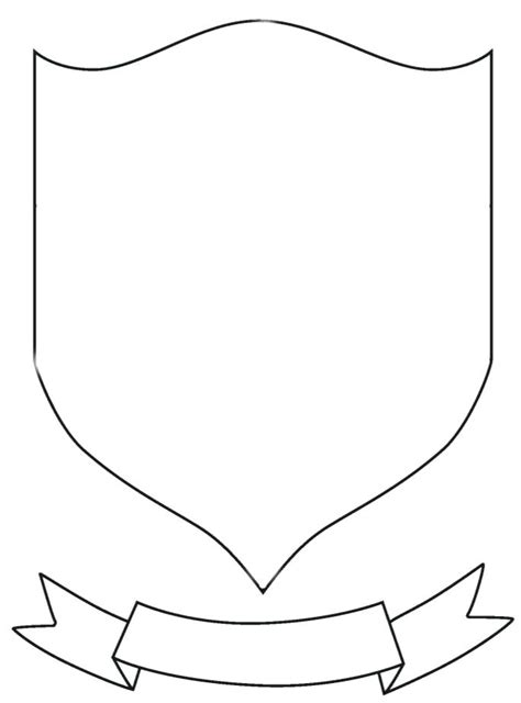 Blank Coat Of Arms Also Heraldic Coat Of Arms Templates With Medieval Winged Shields Decorated Personal Coat Of Arms Template