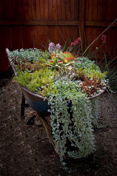 Wheelbarrow Planter Ideas by 7 Diy Planter Ideas You Probably Never Thought Of Photos