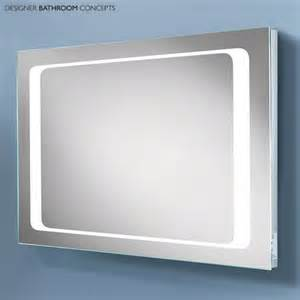 Design bathroom mirror with led lights stainless steel paper towel