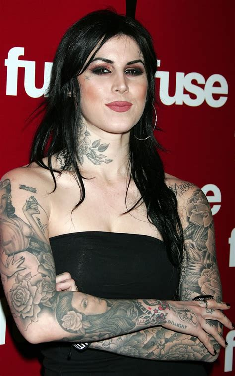 news magazine photos gallery of kat von d tattoos