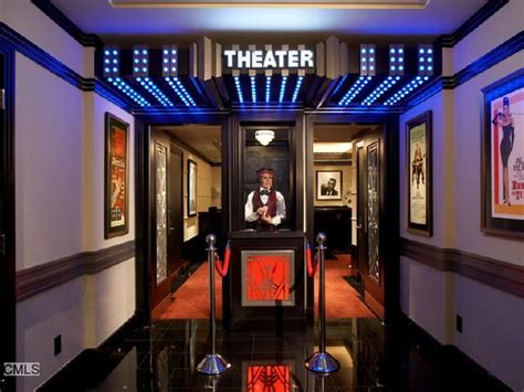 home theater entry  cool home interiors  outdoor