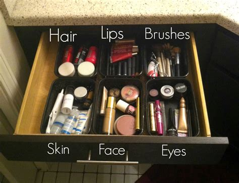 rachel s lookbook makeup storage