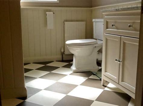 checkerboard bathroom floor harvey maria blog