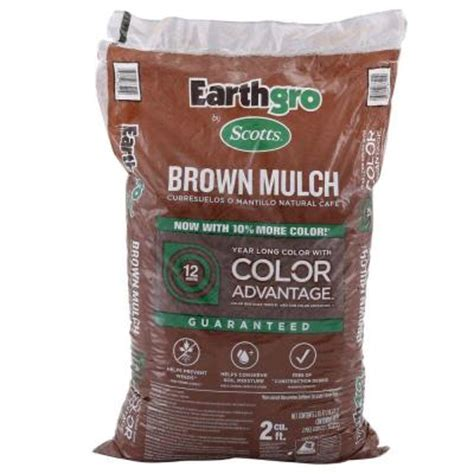 scotts earthgro mulch only 2 for 2 cu ft bag common