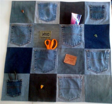 denim craft projects 10 ideas for upcycling denim with crochet crochet