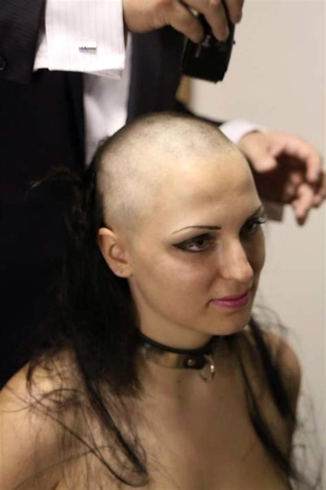 ladies forced head shave 163 best images about fetish on pinterest plugs