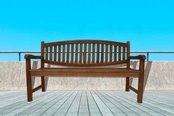 Balkon Bodenbelag Holz 335 by Sam 174 A Klasse Teak 3 Sitzer Gartenbank 160 Cm Orlando Auf
