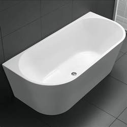 Quality Bath Vanities 1700mm Avalon Back To Wall Freestanding Bath Ats Tiles