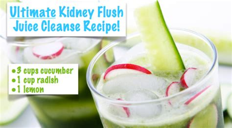 Detox Juice For Kidneys by Ultimate Kidney Flush Juice Recipe And