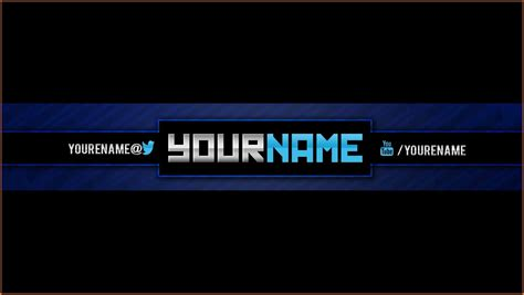 youtube banner template download cv exles word
