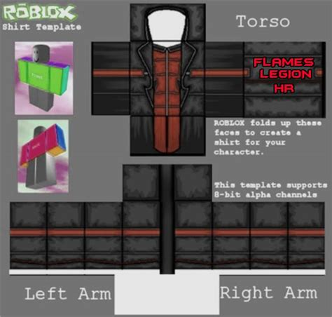 roblox shirt template size fl hr shirt by xanman1000roblox on deviantart