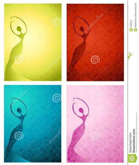 imagenes abstractas femeninas siluetas femeninas textured fotos de archivo libres de