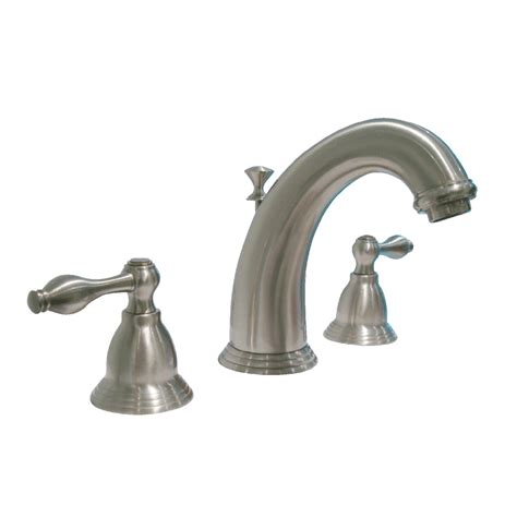 aquasource bathroom sink shop aquasource 2 handle watersense bathroom sink faucet drain included at lowes com