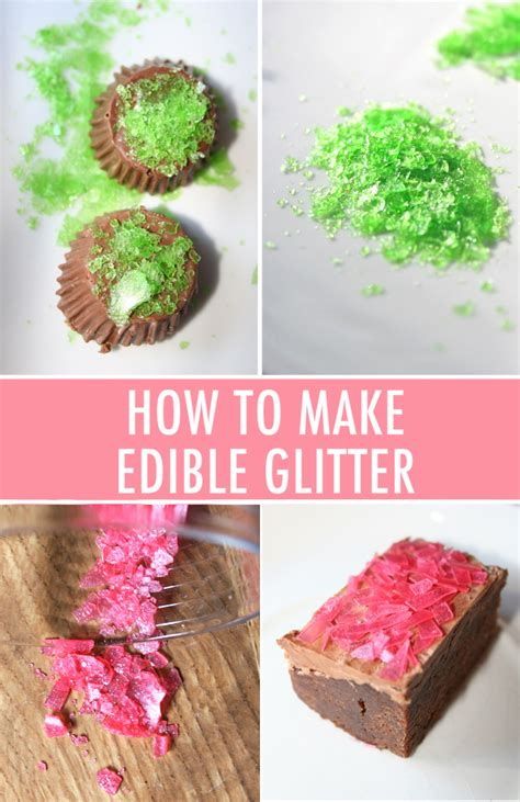 How To Make Edible Paper - how to make edible glitter
