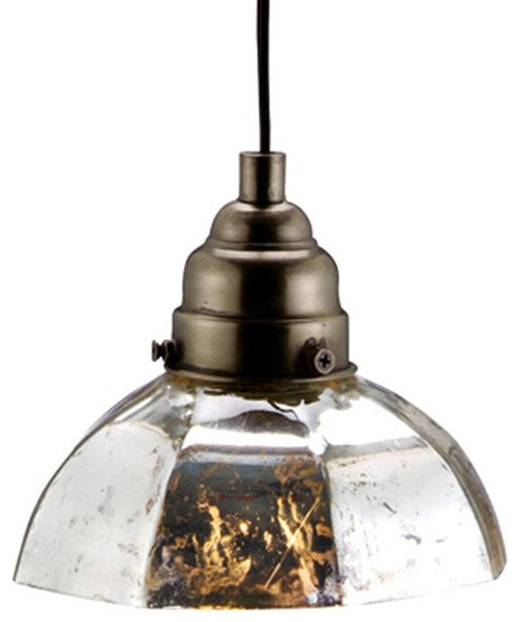 Eclectic Pendant Lighting Antiqued Silver Octagonal Pendant L Eclectic Pendant Lighting Atlanta By Iron Accents
