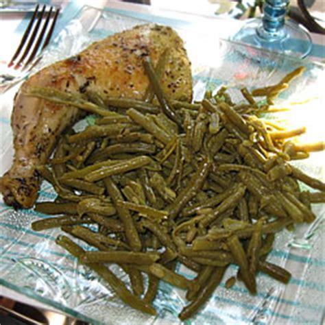 comment cuisiner des haricots verts en conserve cuisiner des haricots verts 28 images recette de