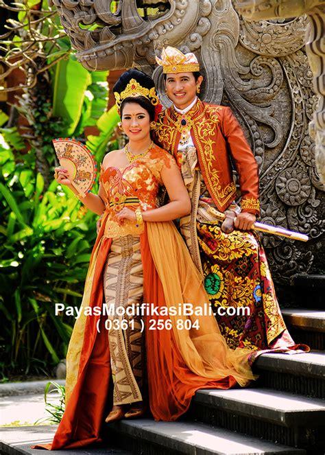 kebaya pengantin modif bali 4 baju adat bali pria dan wanita tradisikita indonesia