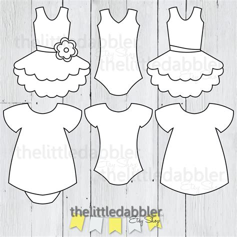 dress shirt card template dress and tutu templates baby shower onesie baby dress