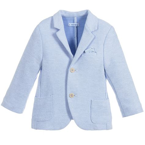 boys light blue suit mayoral boys light blue blazer childrensalon