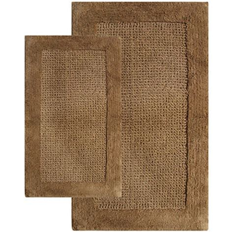 Chesapeake Merchandising Naples 2 Pc Bath Rug Set Jcpenney Jcpenney Bathroom Rug Sets