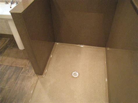 Custom Shower Pan by Standard Showers