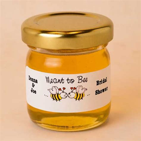 Honey Pot Jar Green Mj 31 honey wedding favors 48 honey jar favors for