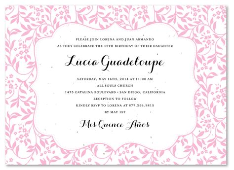 quince invitation templates quinceanera invitations templates quinceanera invitations