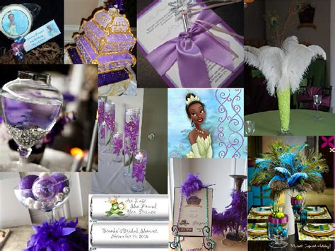 princess and the frog theme bridal shower pantone wedding styleboard the dessy