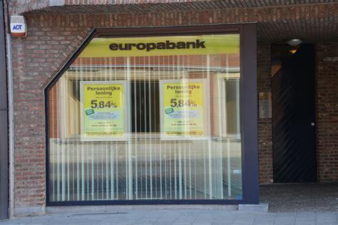 europa bank europabank geel centrum