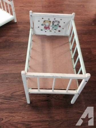 side of bed crib vintage cabbage patch bunk bed and crib with side railing