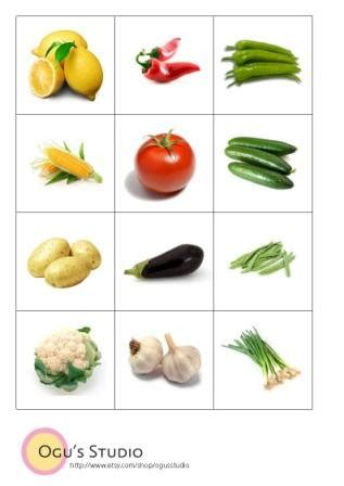 vegetable flashcards printable vegetable flash cards collection 16 wallpapers