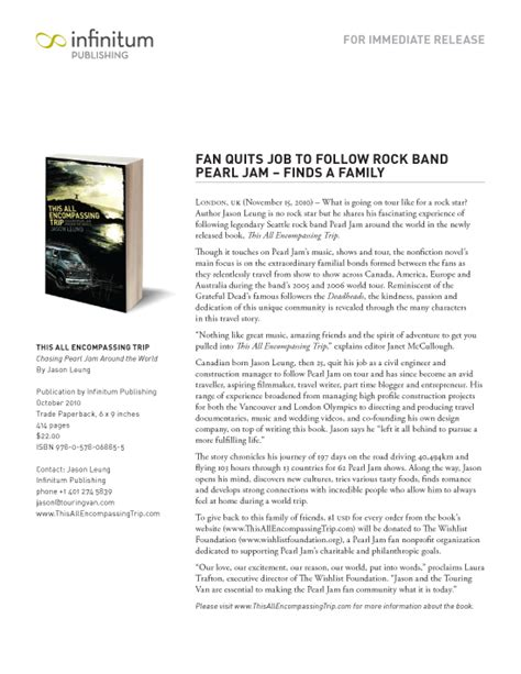 19 book press release template single sheet of
