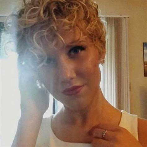 pixie cut with curl perm curly pixie cut 2016 the best short hairstyles for women