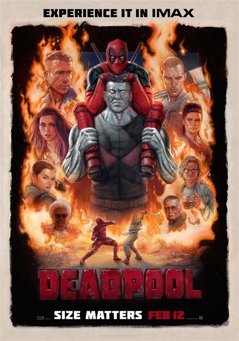 deadpool poster happy thanksgiving from the deadpool