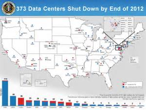 us government map data u s government to 800 data centers by 2015