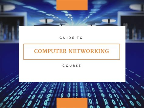 computer networking beginnerâ s guide for mastering computer networking and the osi model computer networking series books guide to computer networking course