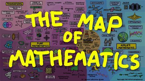 The Mathematics Of the map of mathematics
