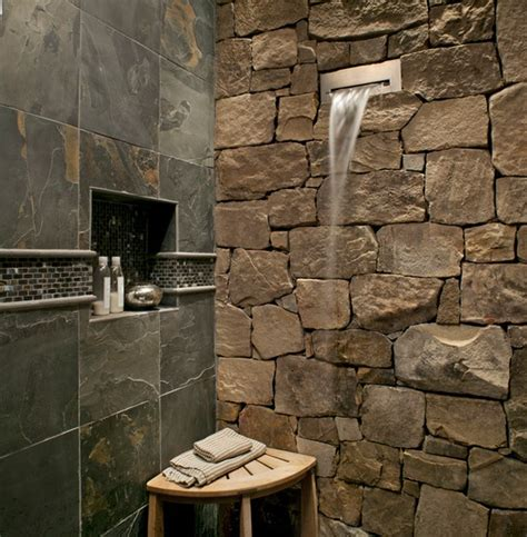 rustic tile bathroom 20 rustic bathroom designs the grey home