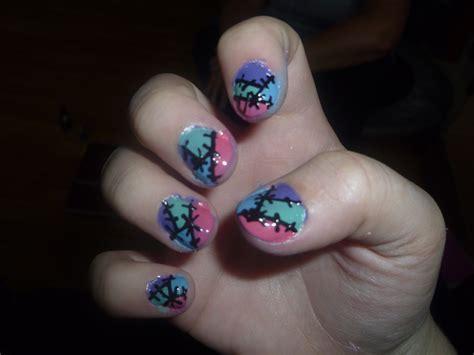 naruto nail art tutorial patch work nail art by hakuouki naruto on deviantart